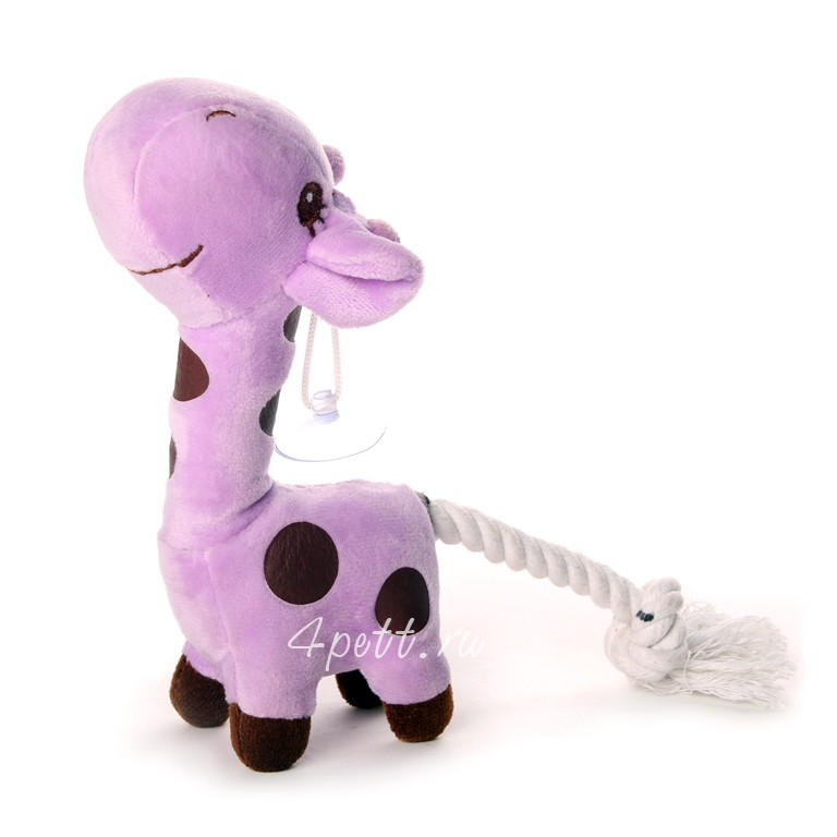 Игрушка Жираф для собак купить.